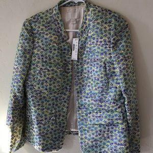 NWT J.crew  collection tweed jacket